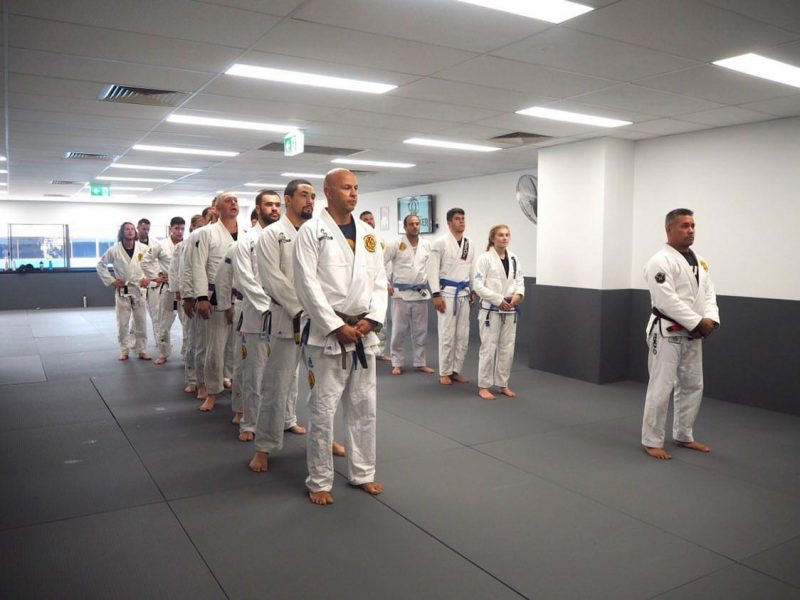 gracie artarmon line up after class