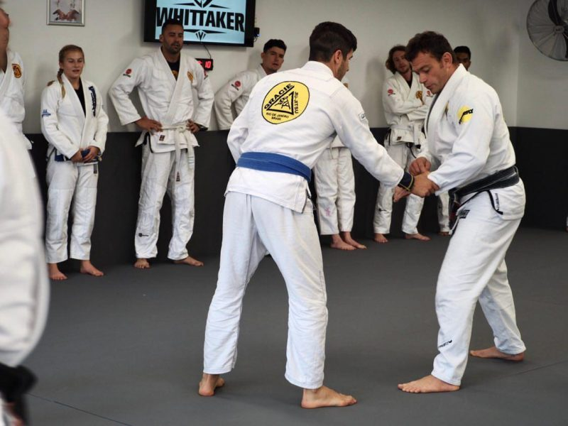 self defence technique bjj at gracie artarmon